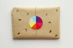 Pie Chart Gift Tags (free download)