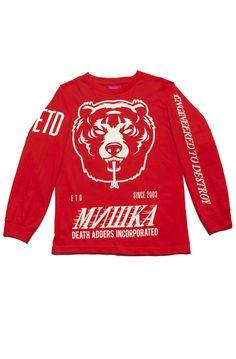 Death Adder L/S Shirt (Red)