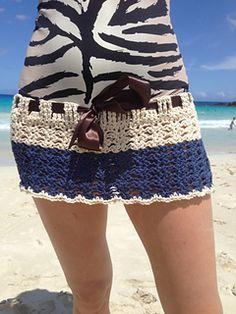 Crochet skirt and shorts. FREE pattern.