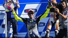 Valentino Rossi Winner at Misano Moto GP 2014