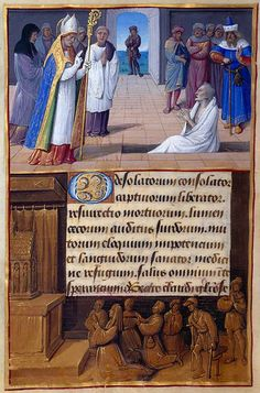 The Morgan Library  Museum Online Exhibitions - Hours of Henry VIII - St. Claude of Besançon