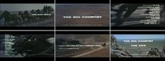Saul Bass The big country 1958 title sequence