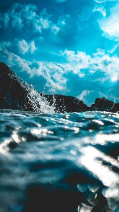 Wallpaper iphone nature water ocean waves ideas for 2019 Aesthetic Backgrounds, Aesthetic Iphone Wallpaper, Aesthetic Wallpapers, Wallpaper Sky, Nature Wallpaper, Waves Wallpaper Iphone, Iphone Wallpaper Summer, Phone Backgrounds, Wallpaper Backgrounds