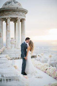 Wedding Planner: http://bodasdecuento.com Photography: Jimena Roquero - http://jimenaroquero.com Read More: http://www.stylemepretty.com/destination-weddings/2015/04/10/romantic-summer-spanish-wedding/