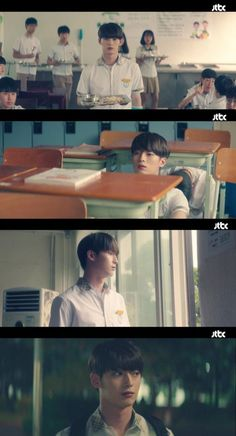 MYTEEN's Shin Junseop plays the younger version of Cha Eun-woo's Do Kyeong-seok. On the first and second episodes of the JTBC drama 'My ID is Gangnam Beauty', teen Do Kyeong-seok (Cha Eun-woo) and Kang Mi-rae (Im Soo-hyang) appeared. Web Drama, Drama Film, Drama Series, Big Brother Quotes, Cha Eun Woo Astro, Kdrama Memes, Woo Young, Korean Entertainment, Netflix