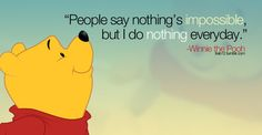 Pooh's words of wisdom