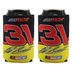 Jeff Burton 2-Pack 12oz. Can Coolers