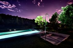 The first stars of the night seen from our pool… Il Salviatino Luxury Hotel Florence