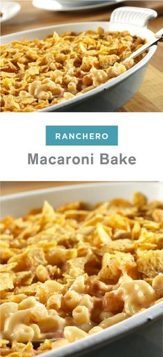 This tasty twist on classic mac and cheese uses picante sauce and ...