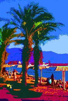 Pop Beach Mandala, Fair Grounds, Mindfulness, Graphics, Paintings, Sculpture, Pop, Drawings, Beach