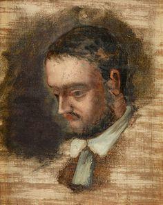 Portrait of Emile Zola - Paul Cezanne  #cezanne #paintings #art