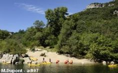 To have fun book your canoe in Ardèche (South of France) and your bivouac ! Have a good trip :)