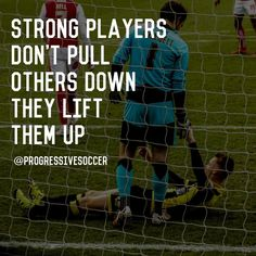 What type of player are you? Do you make fun of your teammates or ridicule them when they make mistakes? Or do you encourage motivate and inspire them? Do you lift them up when they are down? Evaluate your attitude energy and actions towards other players Soccer Player Quotes, Soccer Memes, Softball Quotes, Good Soccer Players, Basketball Quotes, Soccer Drills, Play Soccer, Soccer Stuff, Soccer Sports