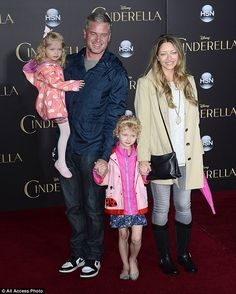 A family affair! Beverly Hills, 90210 star Rebecca Gayheart and Grey's Anatomy star Eric Dane brought their two daughters, four-year-old Billie and three-year-old Georgia Rebecca Gayheart, Mark Sloan, Eric Dane, Lily James, Four Year Old, Two Daughters, Family Affair, Old Actress, Celebs