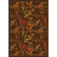 The Conestoga Trading Co. Brown/Orange Area Rug Rug Size: