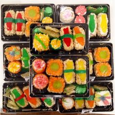Aaargh, brilliant! Pee-wee Herman has learned how to make sushi with candy components. And he shares the steps here.