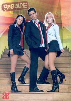 Miguel, Lupita, & Vico (Rebelde) (Alfonso Herrera, Maite Perroni, & Angelique Boyer)