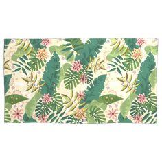 Tropical Pattern Pillowcase