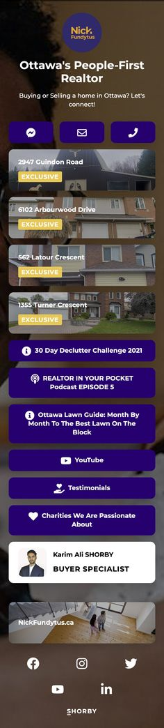 #pinterestinspired #realestate #dreamhouse #realestateagent #property Ottawa, Landing, Real Estate, Good Things, Let It Be, Real Estates