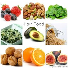 Foods that will improve your hair!!