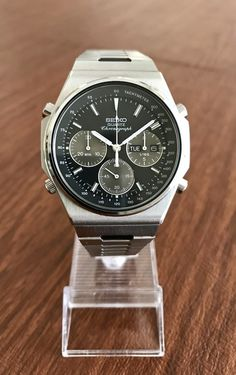 FS: Vintage Seiko Day-Date Quartz Chronograph Best Watches For Men, Luxury Watches For Men, Cool Watches, Seiko Watches, Vintage Watches, Omega Watch, Chronograph, Quartz, Mens Fashion