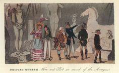 Visitors at the British Museum, c.1819