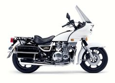 Kawasaki KZ1000 Police Motorcycle. In 1981, I rode one identical to this bike for the Phenix City P.D.,