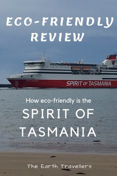 Wondering how environmentally friendly your trip on the Spirit of Tasmania is? The Earth Travellers list all the eco friendly processes on board. Australia Country, Tasmania, Eco Friendly, Environment, Spirit, Earth, Water, Travel, Outdoor