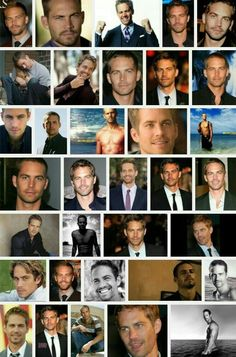 Paul Walker Collage; He Deserves Respect For All He Did With ROWW