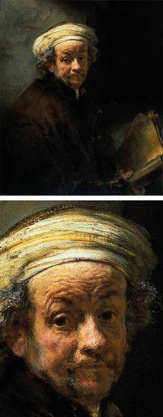 Rembrandt's Self Portrait as the Apostle Paul