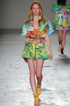 london fashion week spring summer 2015 color cute happy