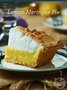 YUM! Grab a slice of creamy, sweet #lemon #meringue pie!