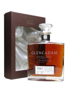 The Glencadam distillery is a distillery in Brechin, Angus, Scotland that produces single malt Scotch whisky. The distillery is owned by Angus Dundee plc and produces one malt whisky, with the remainder of production sold to blenders or used within Angus Dundee plc for use in blended whisky brands. This Single cask version of the 25 year old is quite rare and has a... #glencadam #vintage