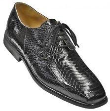Giorgio Brutini Mens Black Snakeskin Dress Shoes # 155221