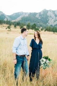 Engagement Photos Wedding Inspiration - Style Me Pretty