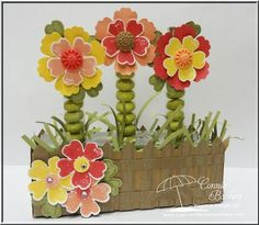 Flower Shop Favors- free tutorial