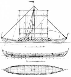 The-Blueprints.com - Blueprints > Ships > Ships (Other) > Viking Ship