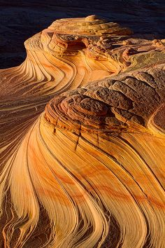2nd Wave,Coyote Buttes North, Arizona...i've actually been here, but none of my photos looked anything like this!