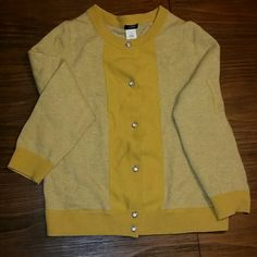 Sweater Cardigan with stunning buttons that are like jewelry J. Crew Sweaters Cardigans