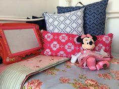 Beach Hut Decor Ideas: How I Created Mickey and Minnie - Millie's Beach Huts Beach Hut Decor, Beach Huts, Seaside Garden, Coastal, Toddler Bed, Shed, Gardens, Decor Ideas, Interiors