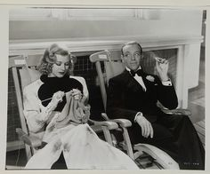 Ginger Rogers (with Fred Astaire)