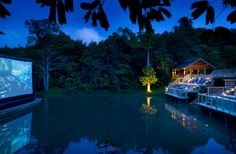 Fancy catching a movie smack bang in the middle of the Thai jungle?