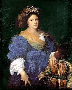 Titien/Tiziano Vecellio (ca 1490-1576) – portrait de Laura Dianti (1523-1525) Kreuzlingen, Collection Heinz Kisters