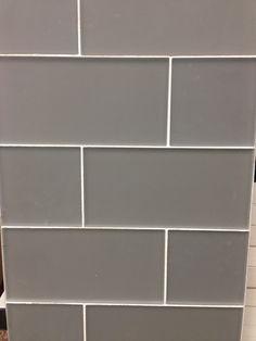 gray glass tile - backsplash for kitchen or bathroom