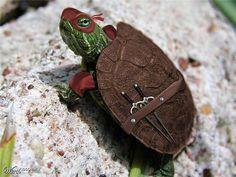 La véritable tortue ninja...