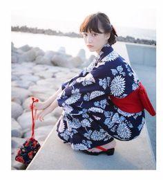 The Day After Tomorrow Japanese Outfits, Japanese Fashion, Japanese Kimono, Japanese Girl, Japanese Style, Korean Traditional, Traditional Outfits, Yukata Kimono, Oriental