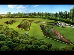 Экологические подземные дома - YouTube