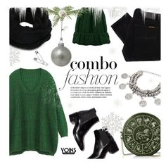 """""""Fashion Combo ~ Yoins #20"""" by alexandrazeres ❤ liked on Polyvore featuring Nudie Jeans Co., Winter, Christmas, casual, yoins and loveyoins"""