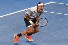 Roger Federer (vs Rafael Nadal) a remporté son dix-huitième Grand Chelem - Open d'Australie 2017 -  6/4-3/6-6/1-3/6-6/4