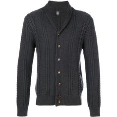 Eleventy V neck cardigan (1.375 BRL) ❤ liked on Polyvore featuring men's fashion, men's clothing, men's sweaters, grey, mens colorful sweaters, mens cardigan sweaters, mens grey cardigan sweater, mens grey sweater and mens v neck cardigan sweater
